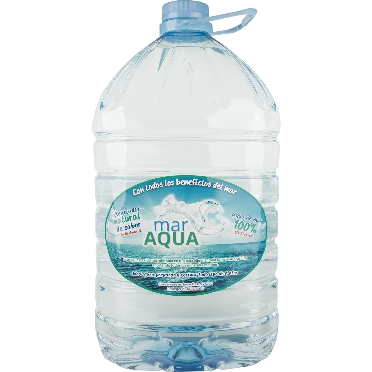 Agua de mar 8l. Maraqua