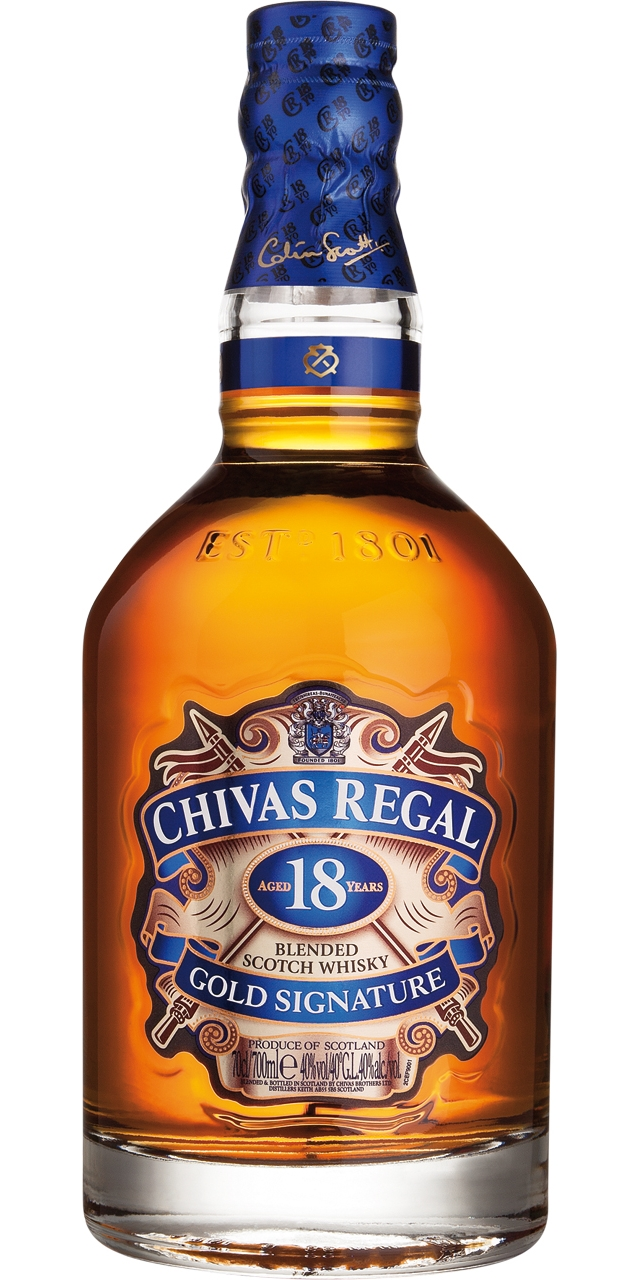 Chivas Regal 18 anys 70cl.