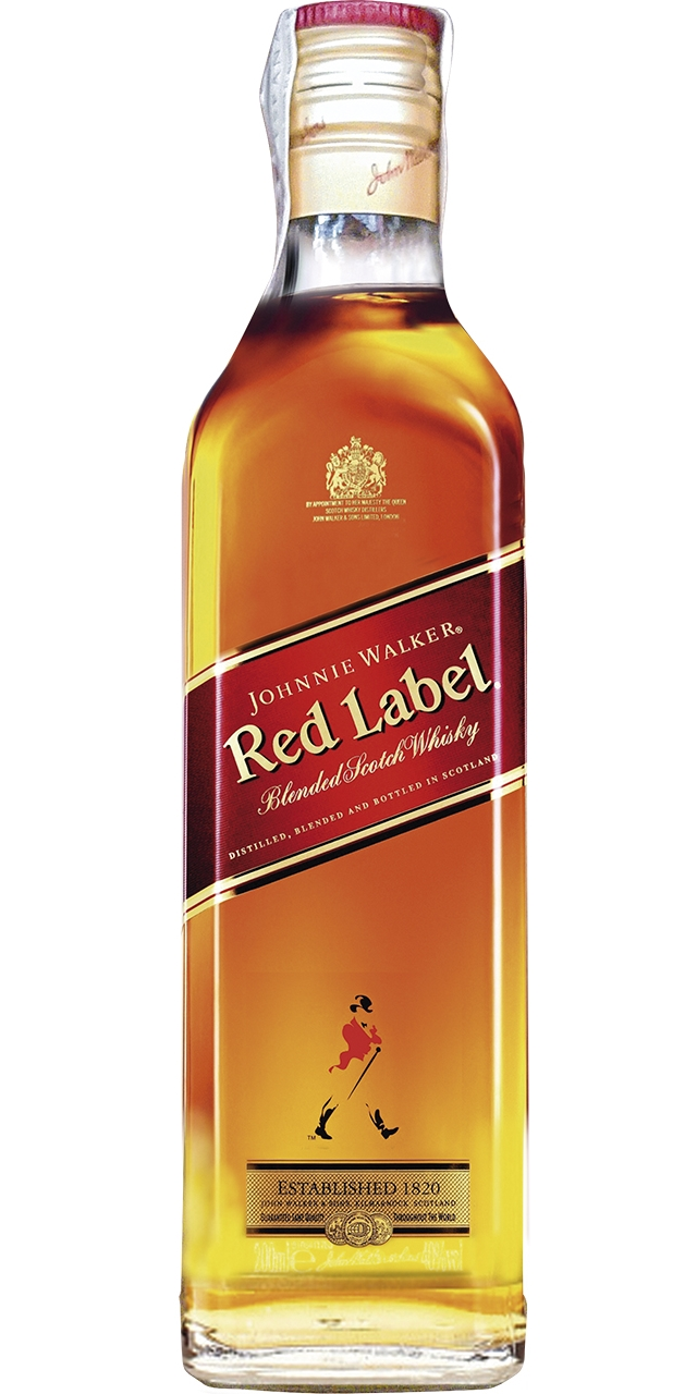 Johnnie Walker Red Lebel 20cl.
