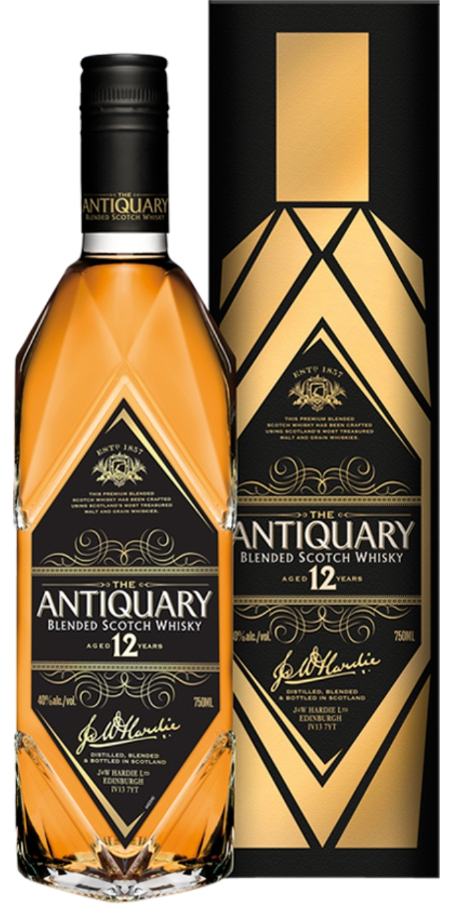 The Antiquary 12 anys 70cl.