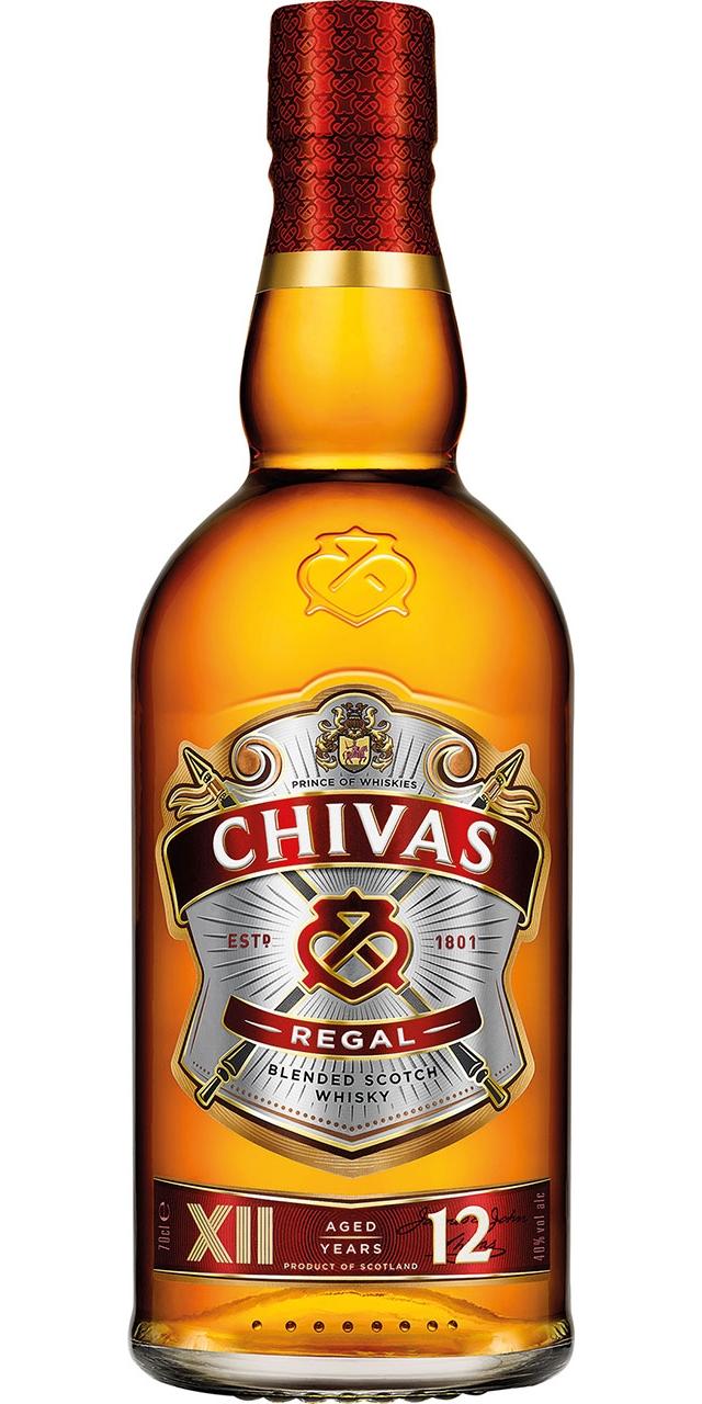 Chivas Regal 12 anys 70cl.