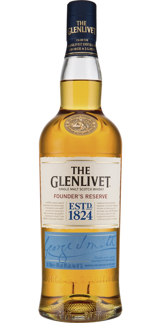 The Glenlivet 12 años 70cl.