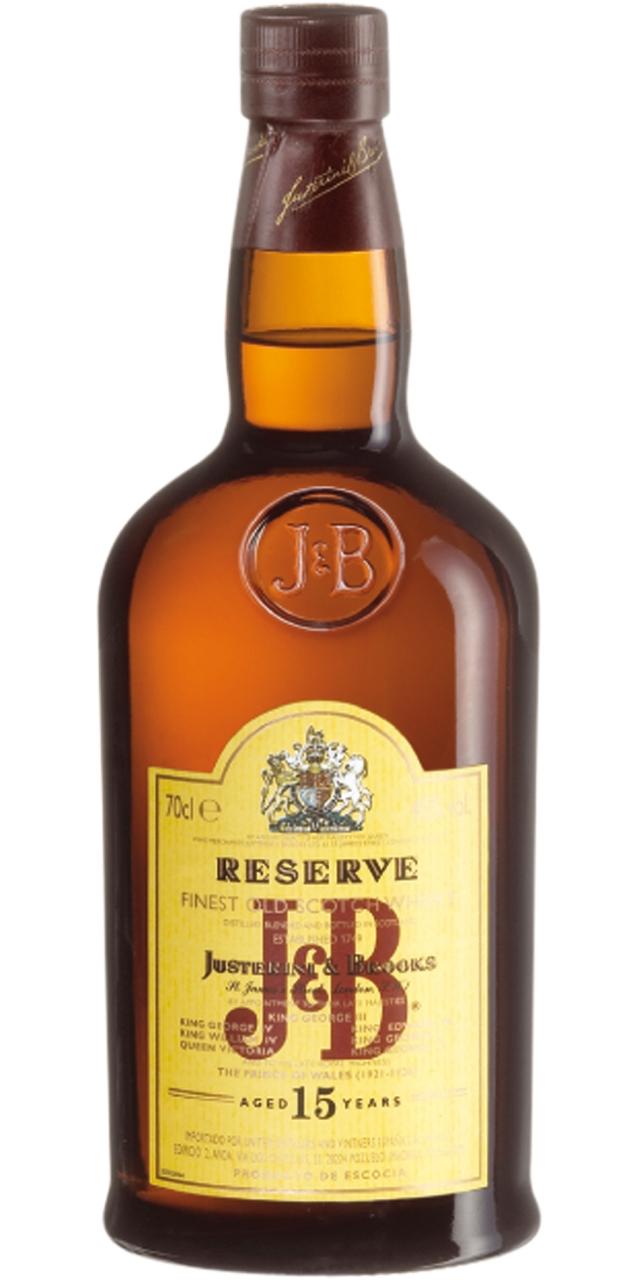 J&B Reserva 15 años 70cl.