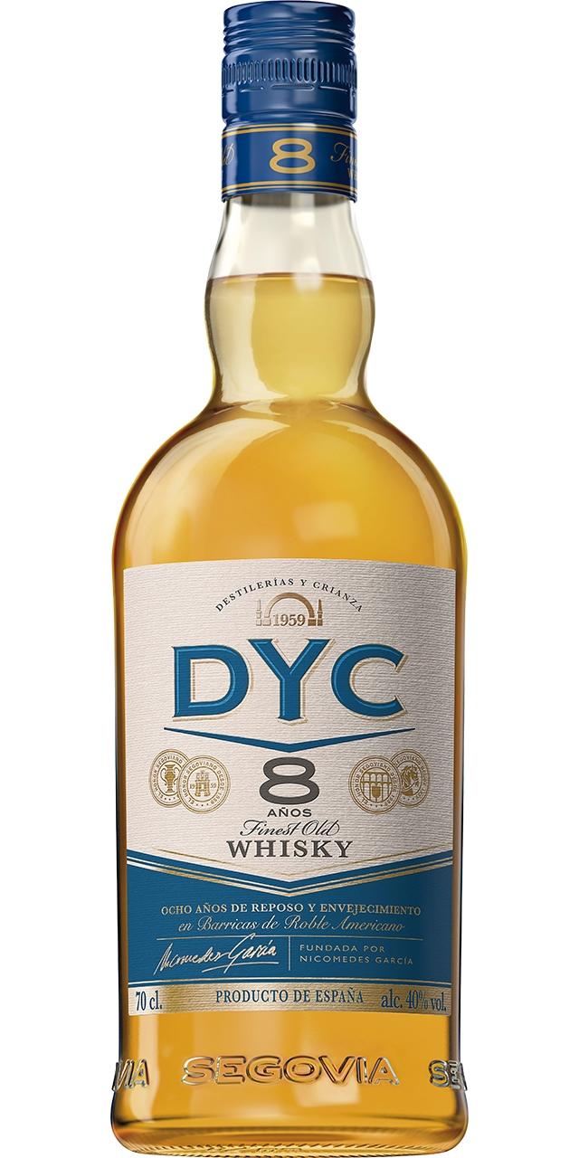 DYC 8 anys 70cl.