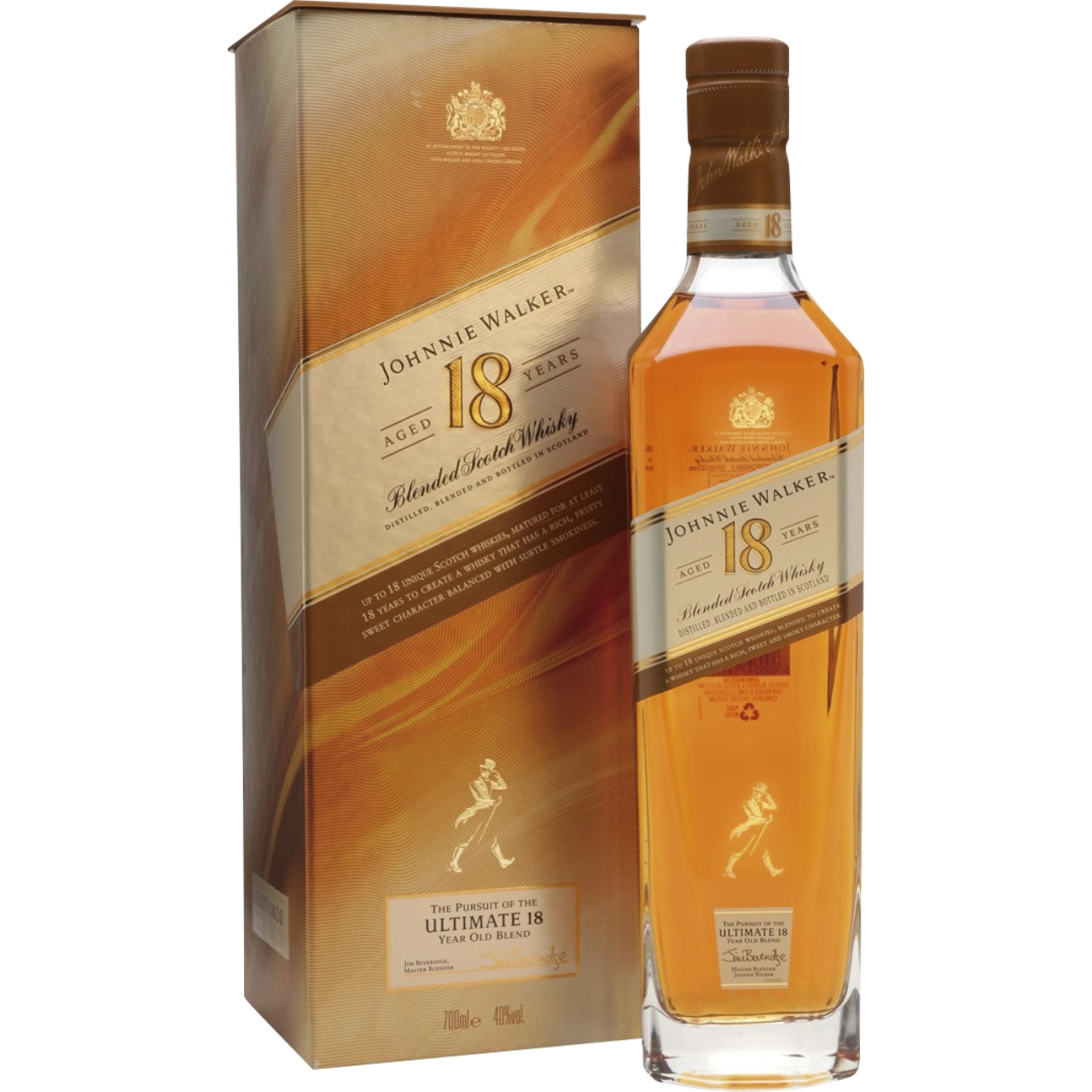 Johnnie Walker Platinum Label 18 años 70cl.