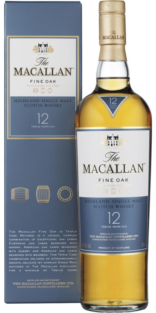 The Macallan 12 anys 70cl.
