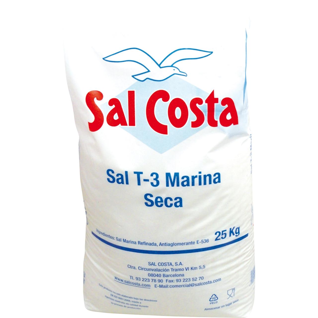 Sal Grossa (Peix) 25kg. Sal Costa