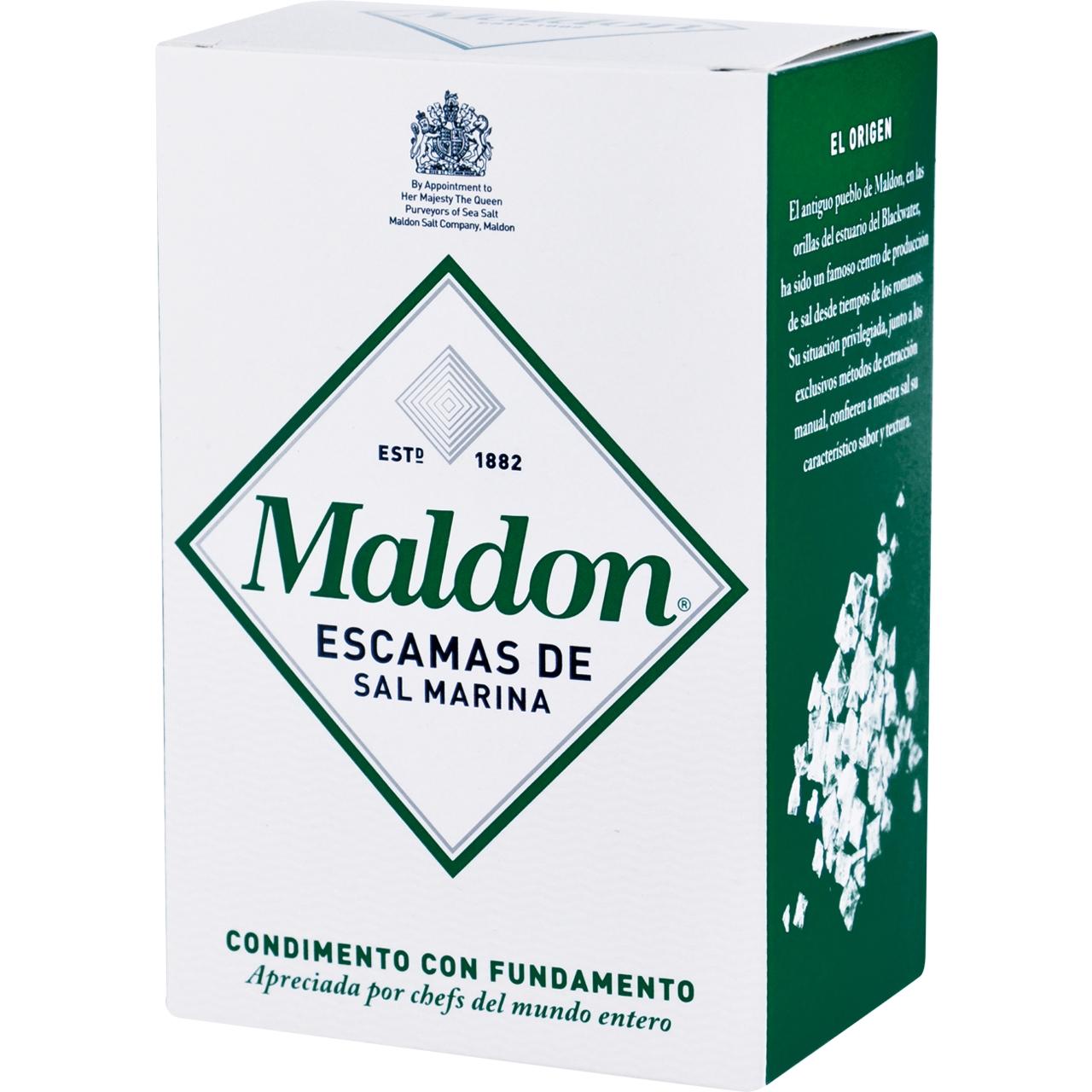 Sal marina en escames 250gr. Maldon