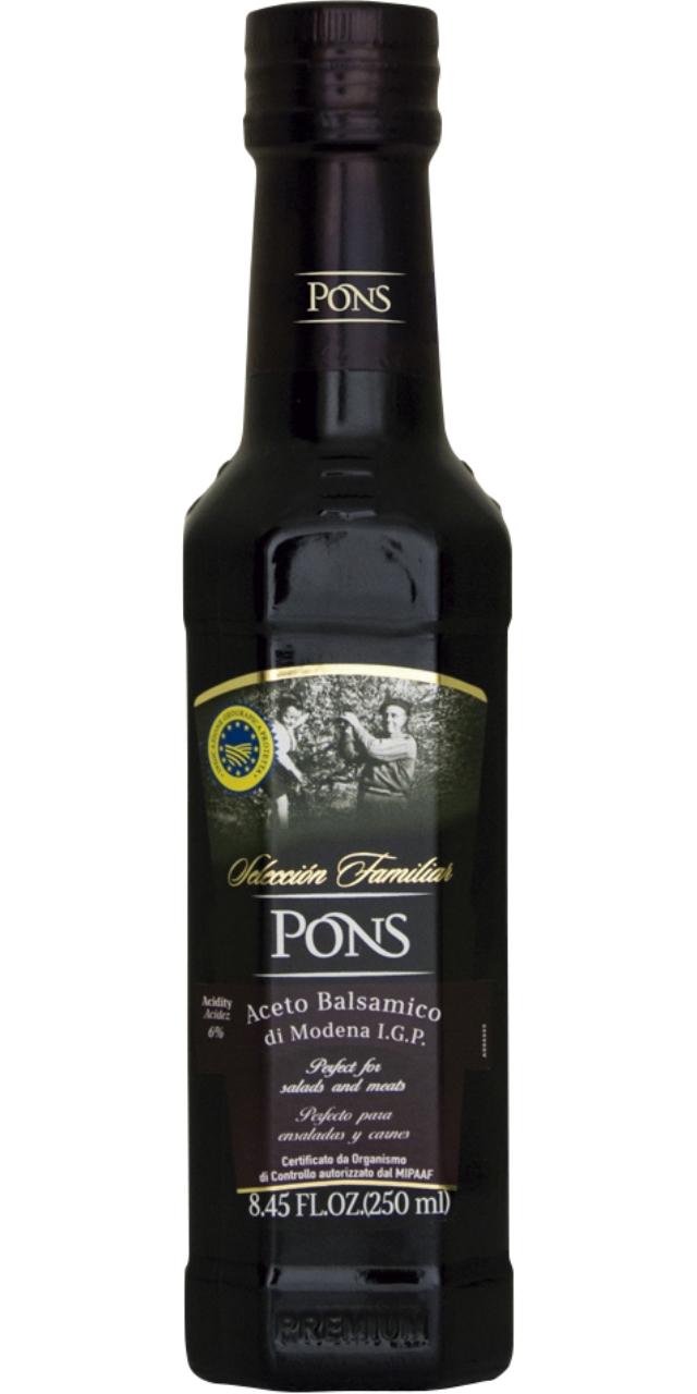 Vinagre balsàmic de Modena 250ml. Pons