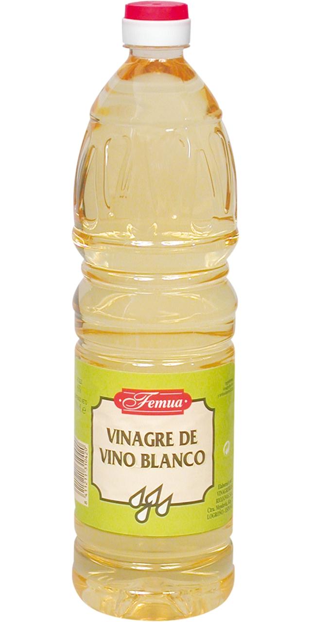 Vinagre de vi blanc 1l. Femua