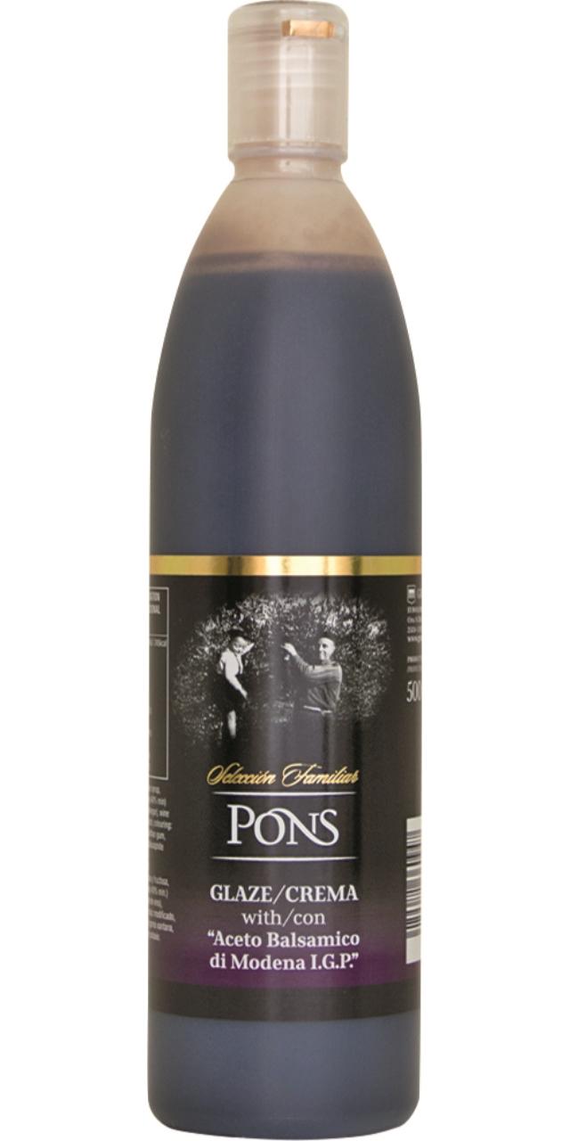Vinagre balsamico glace 500ml. Pons