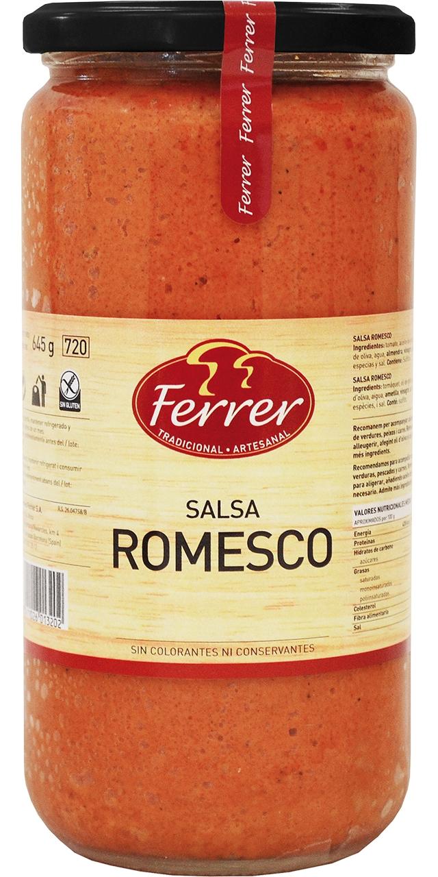 Salsa Romesco 660gr. Ferrer