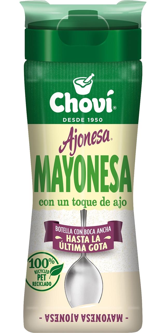 Salsa ajonesa amb ou camperol 250ml.. Choví