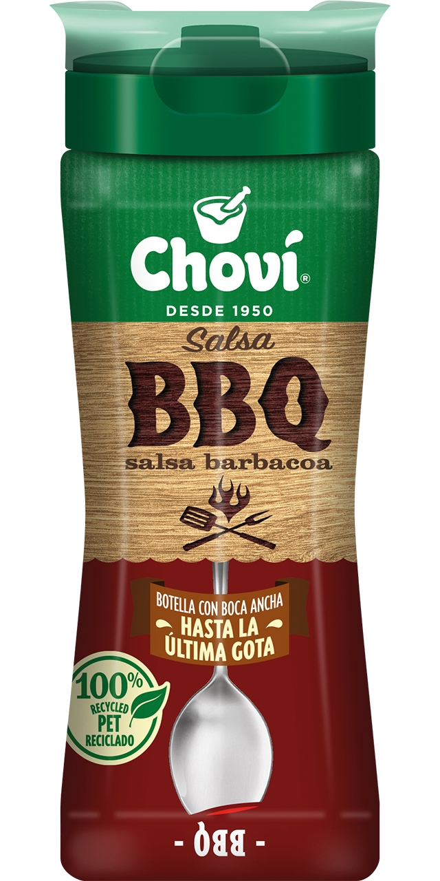 Salsa barbacoa 250ml. Choví