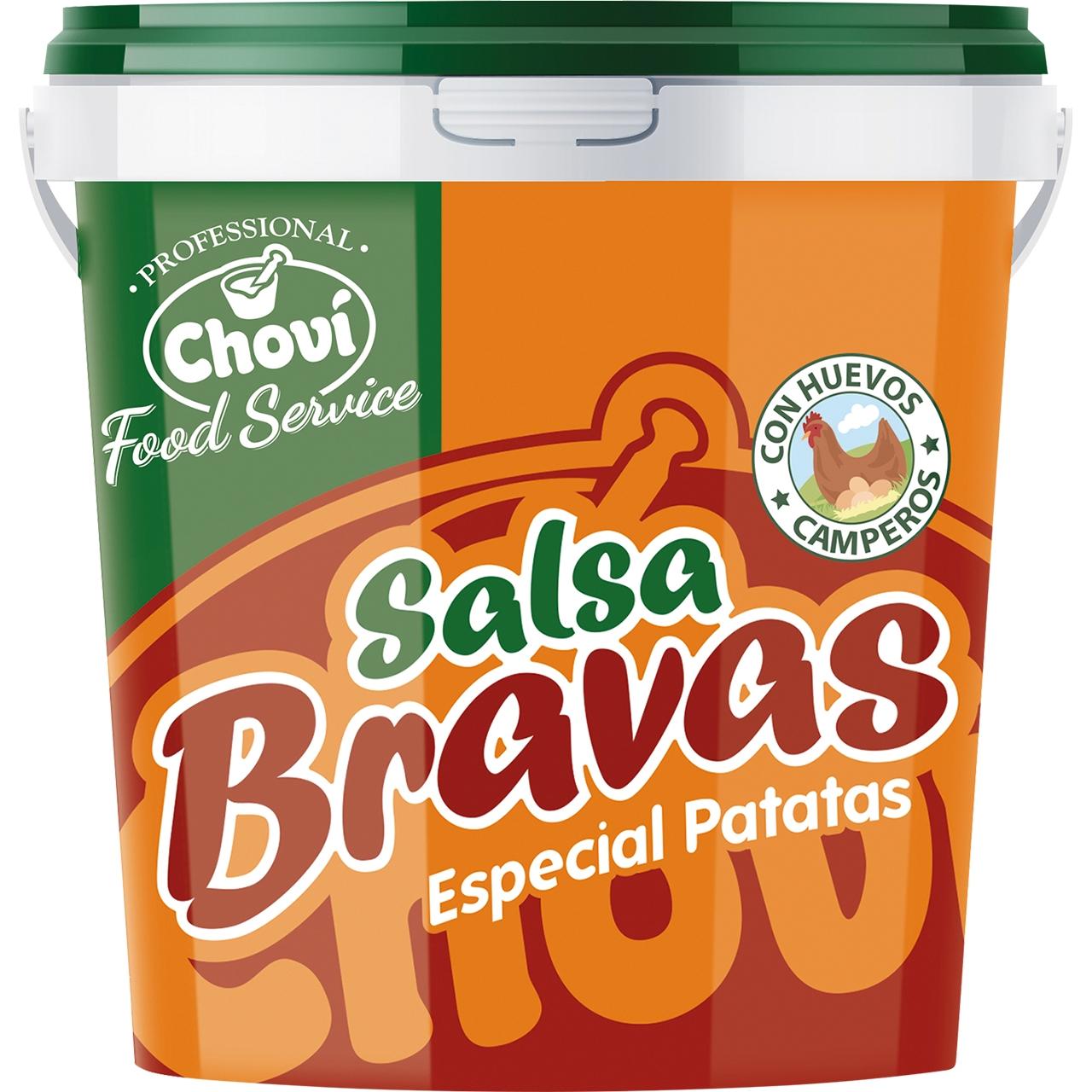 Salsa Brava especial patatas 1kg. Choví