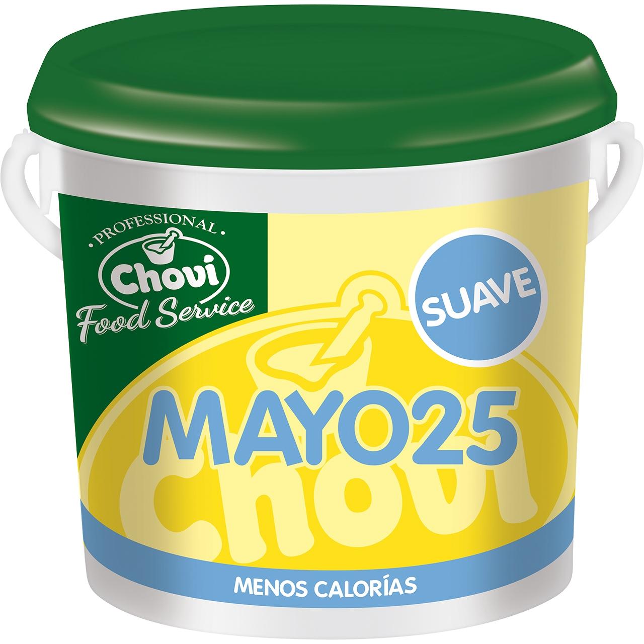 Mayo 25 salsa fina especial hosteleria 10l. Choví