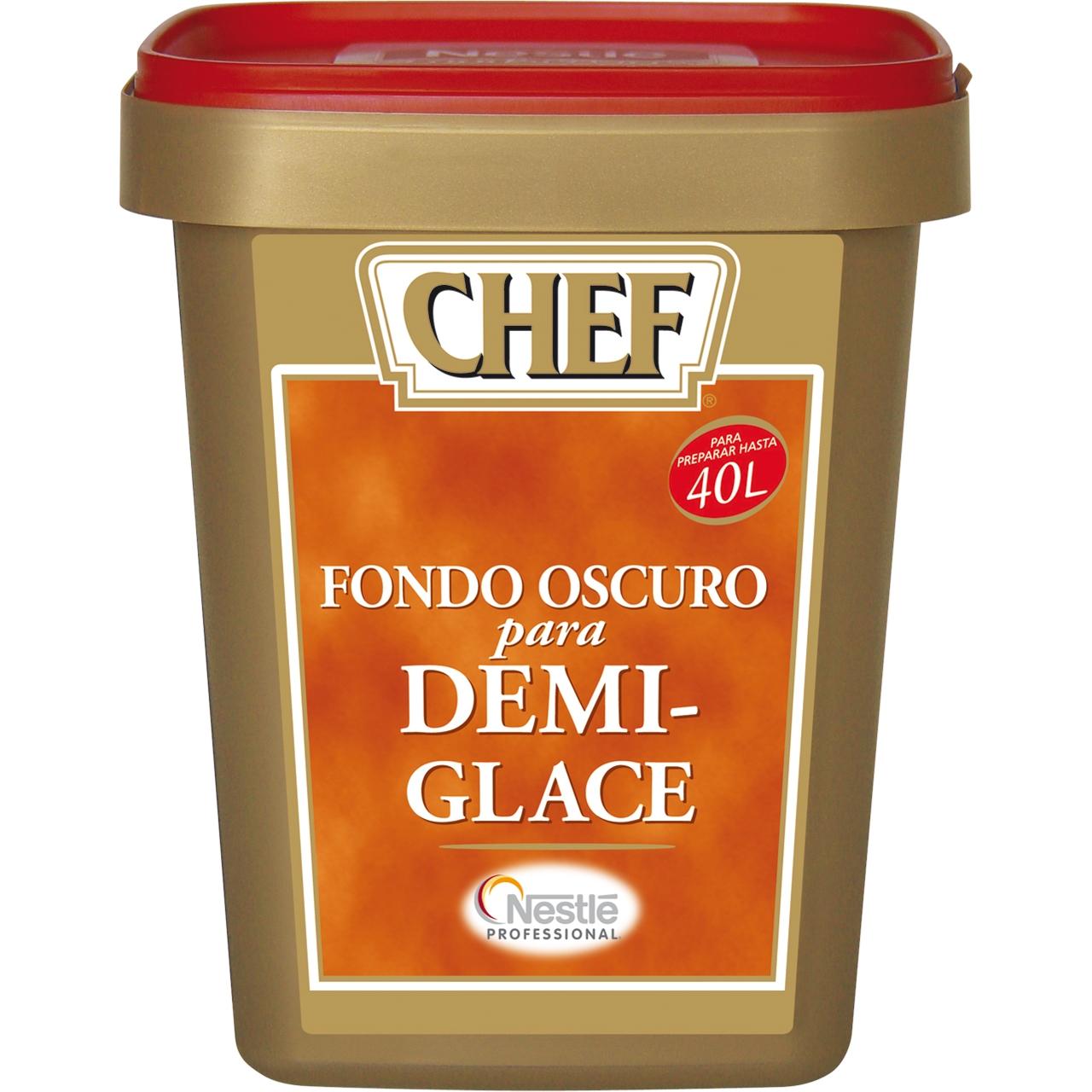 Fondo en polvo demi glace 1,2kg. Nestlé