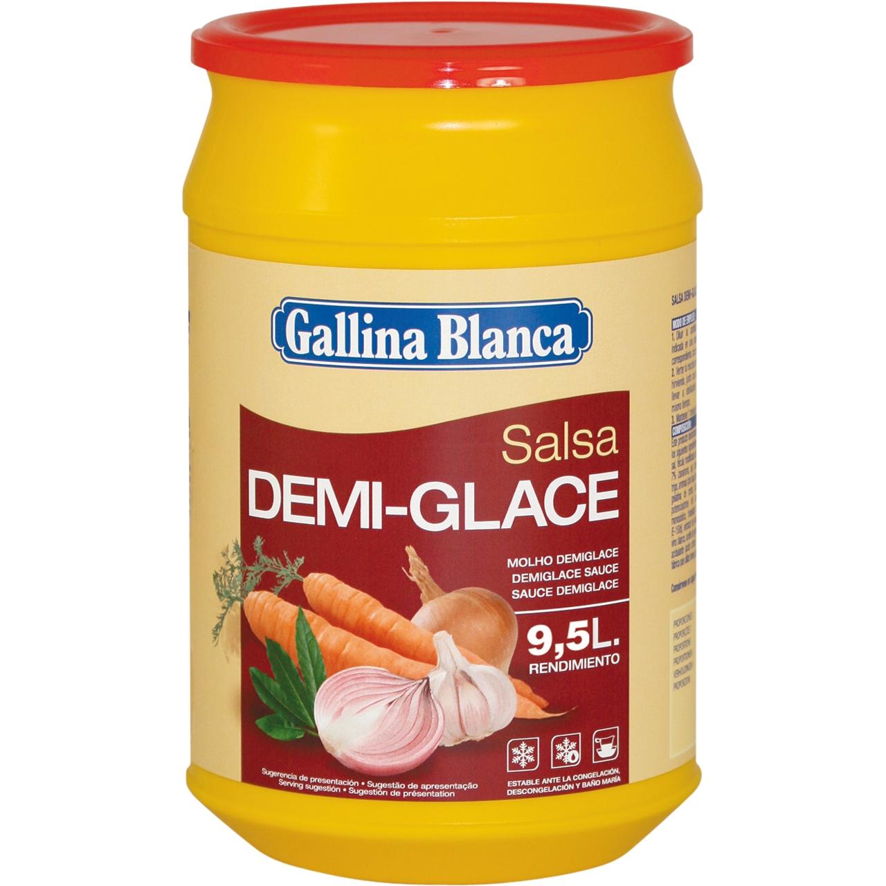 Salsa demi glace deshidratada 1kg. Gallina Blanca