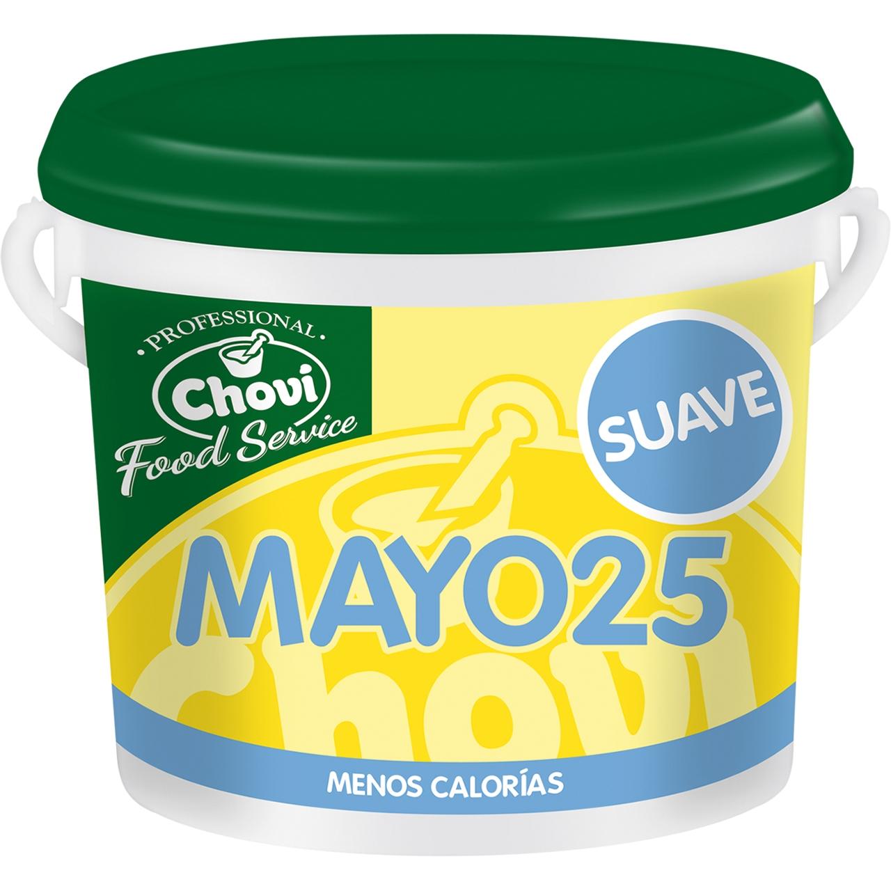 Mayo 25 salsa fina especial hosteleria 3,6l. Choví