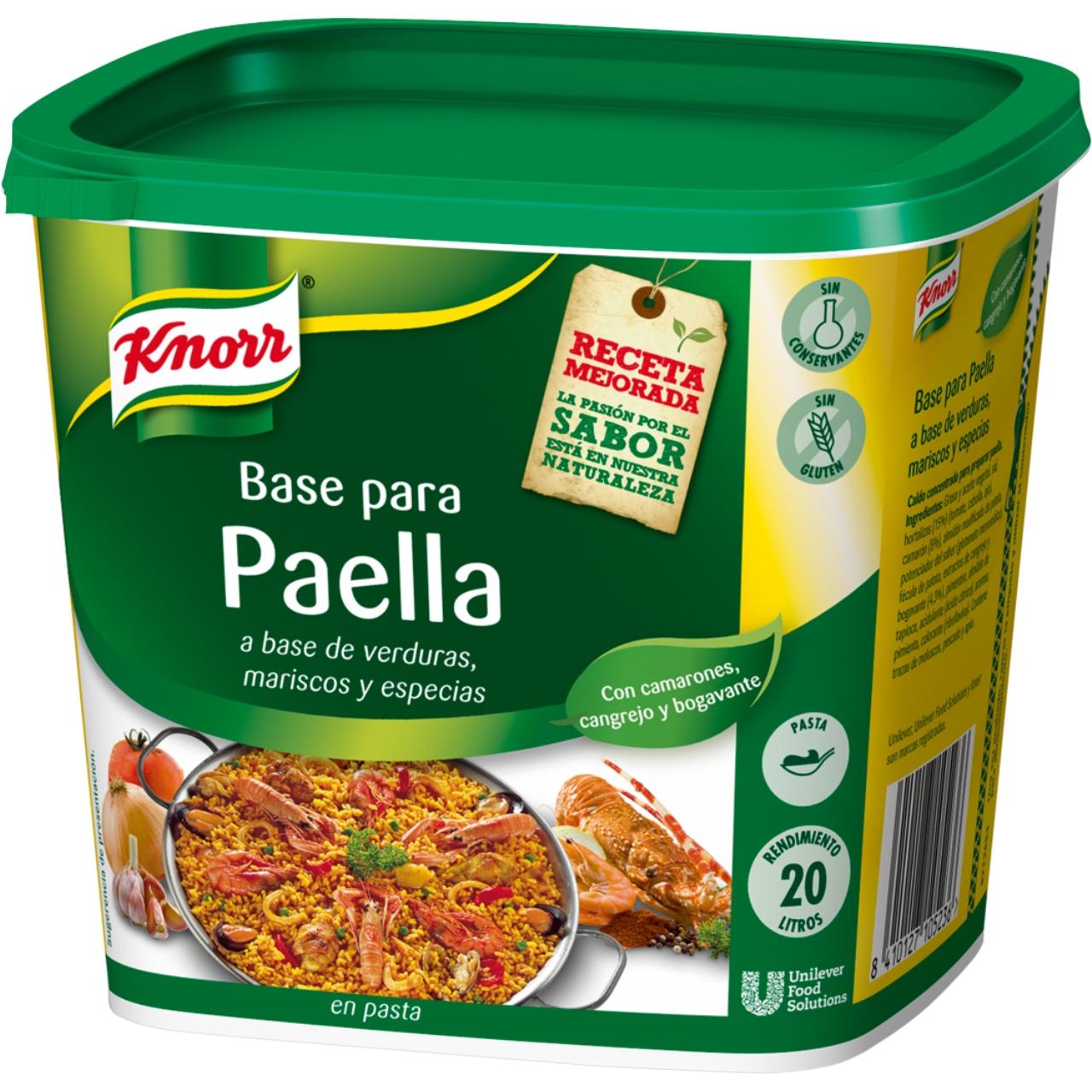 Base per a paella 1kg. Knorr