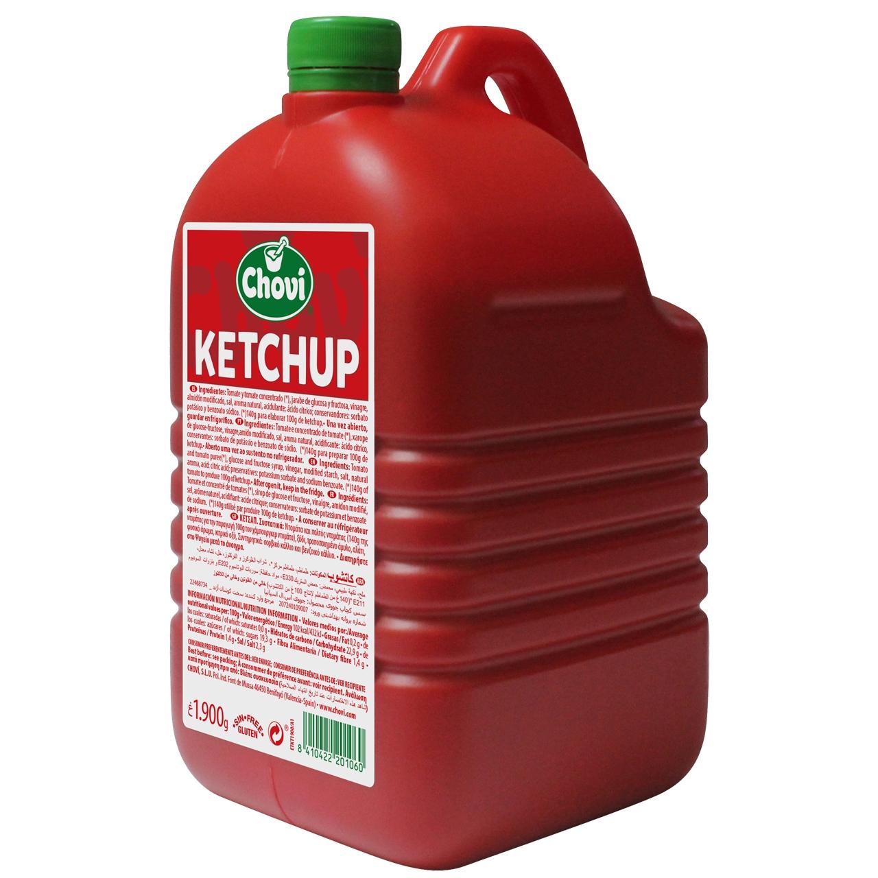 Ketchup 2kg. Choví