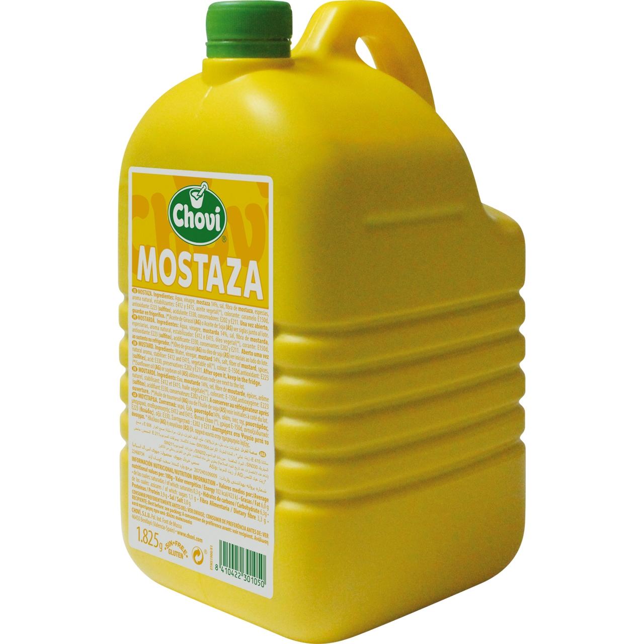 Mostaza amarilla 2kg. Choví