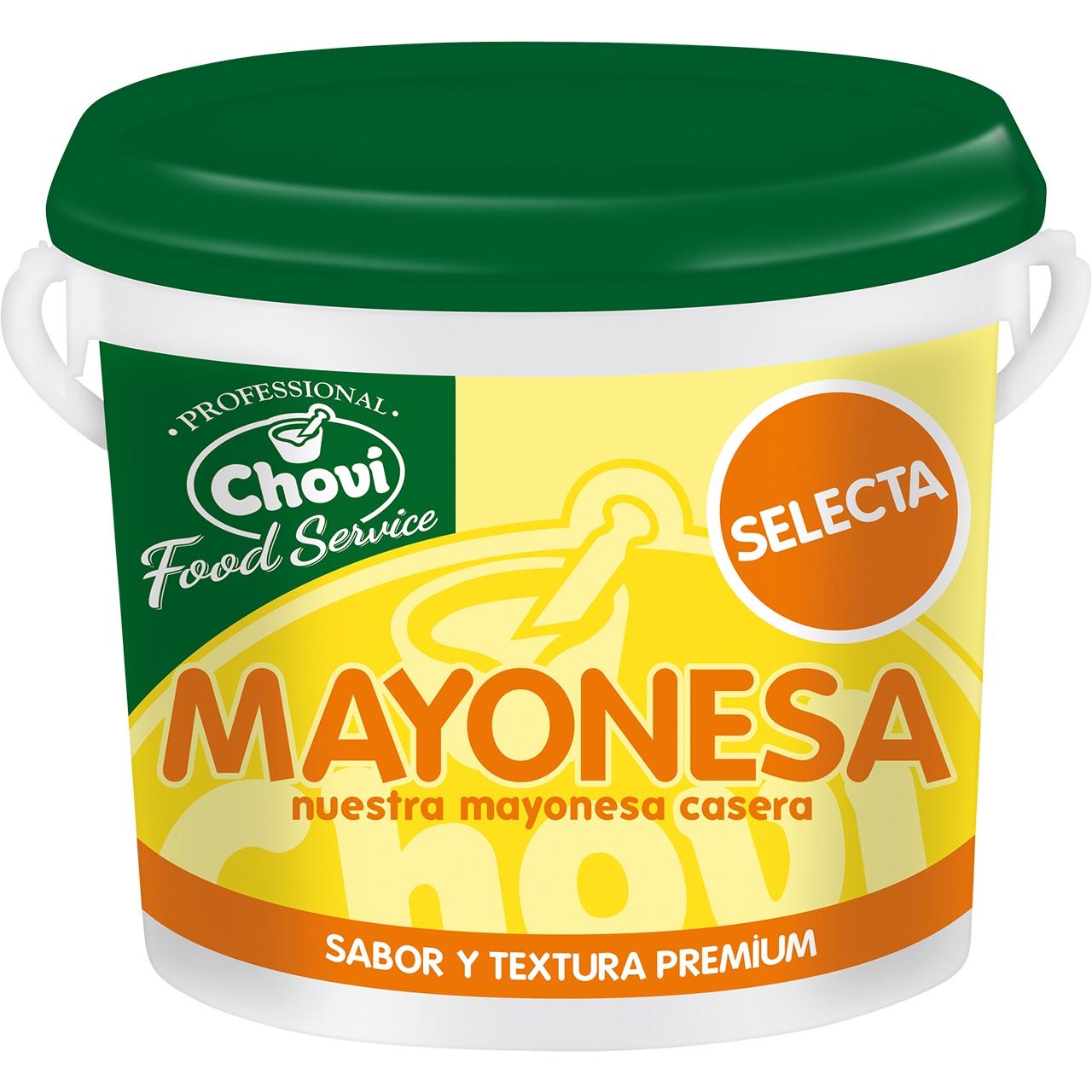 Mayonesa Selecta 3,7kg. Choví