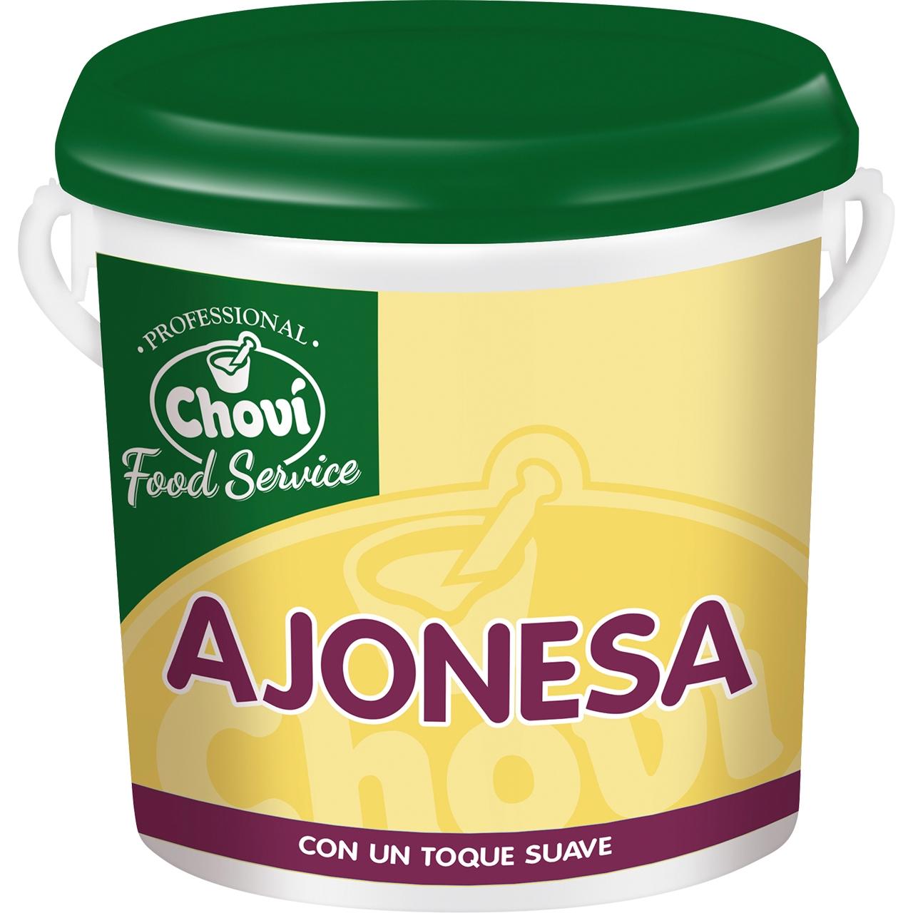 Salsa ajonesa con huevo campesino 2kg. Choví