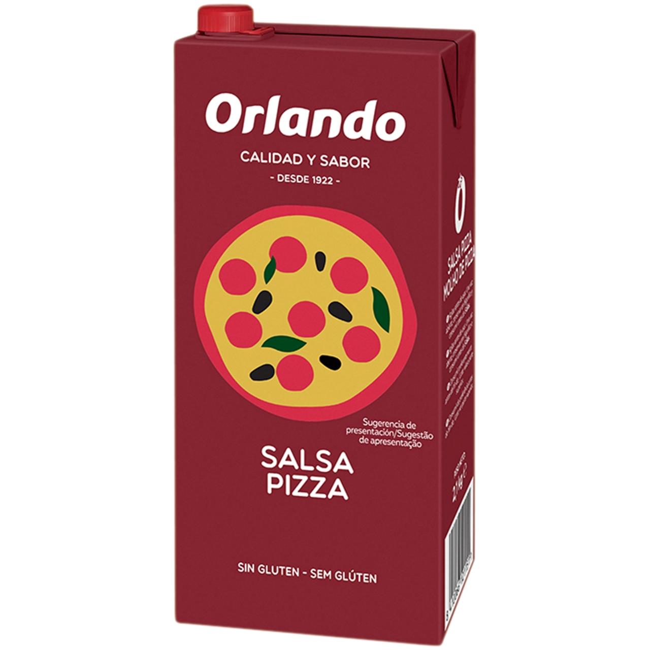 Salsa Pizza 2,1kg. Orlando