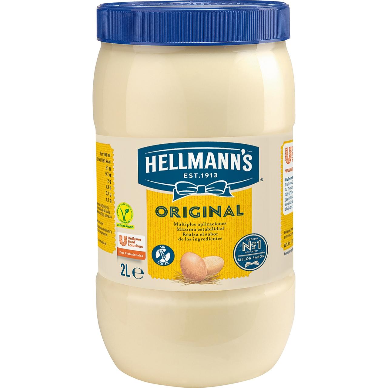 Maionesa 2l. Hellmann's