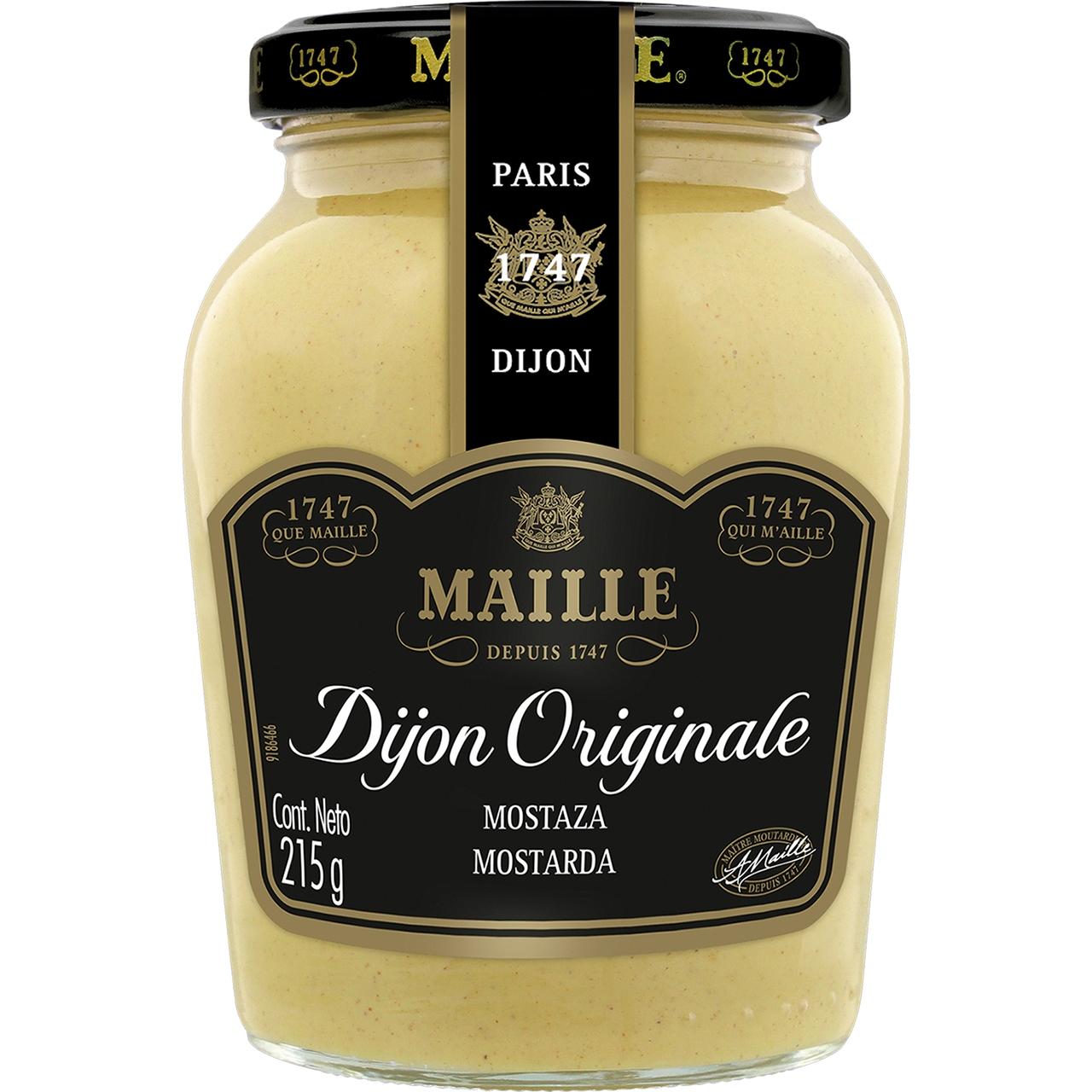 Mostassa de Dijon 215gr. Maille