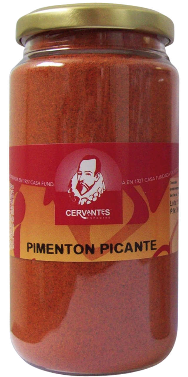 Pimenton picante rojo 200gr. Cervantes