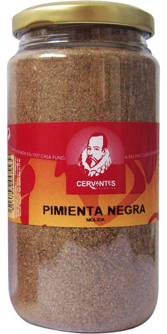 Pimienta negra molido 200gr. Cervantes