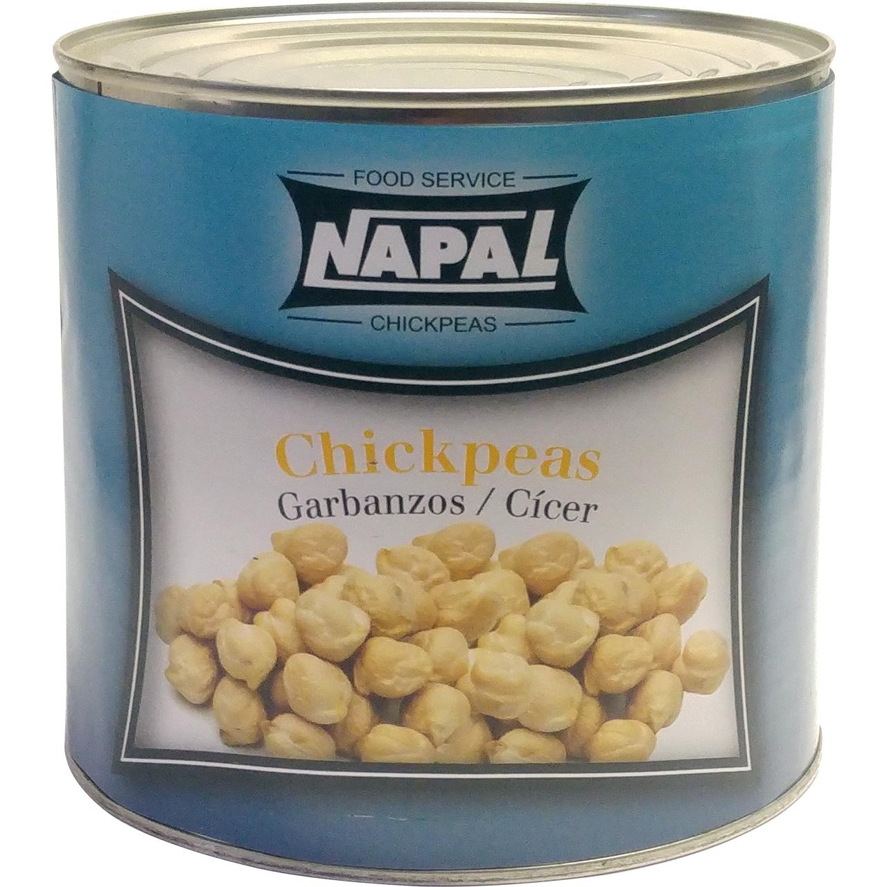 Garbanzo cocido extra 3kg. Napal