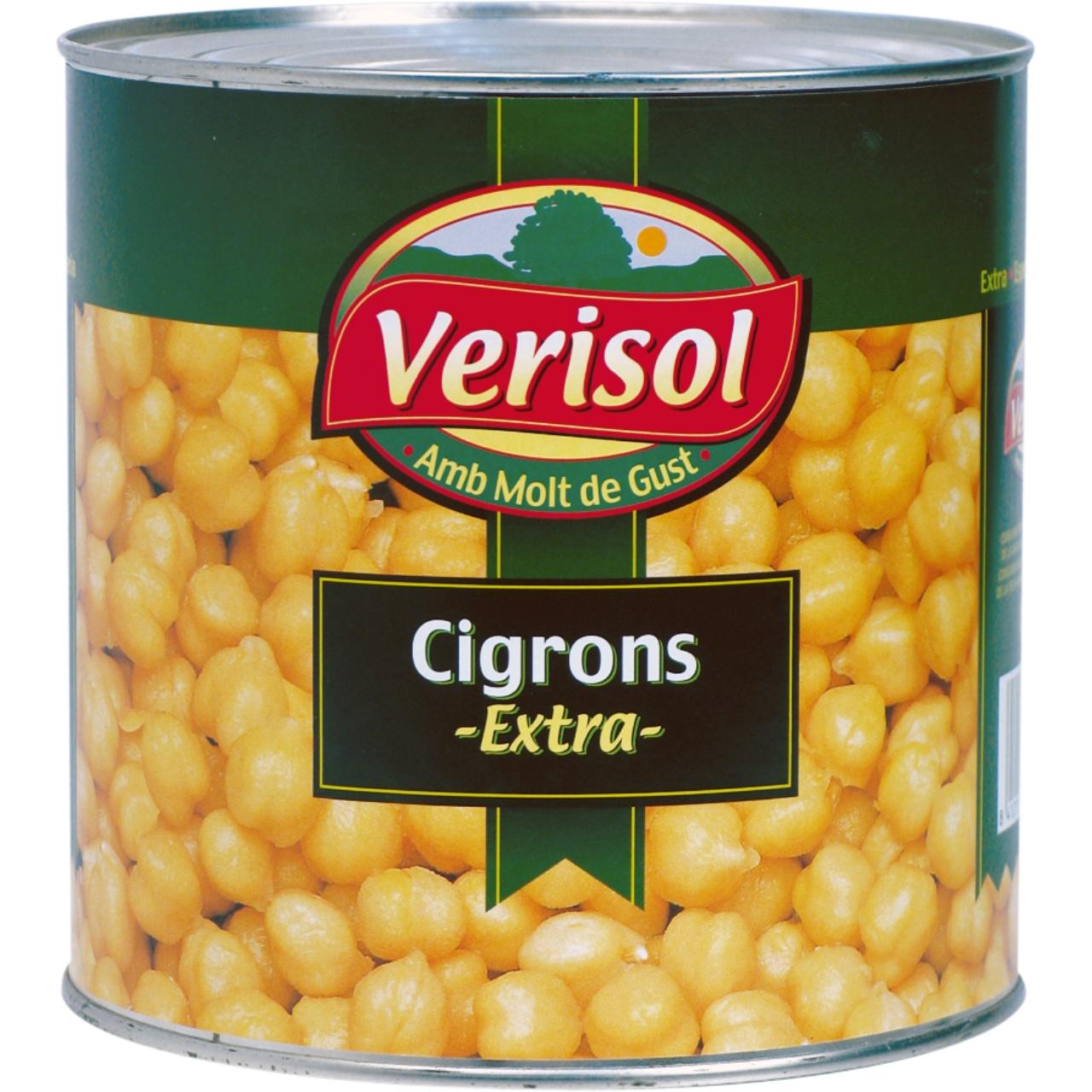 Garbanzo cocido extra 3kg. Verisol