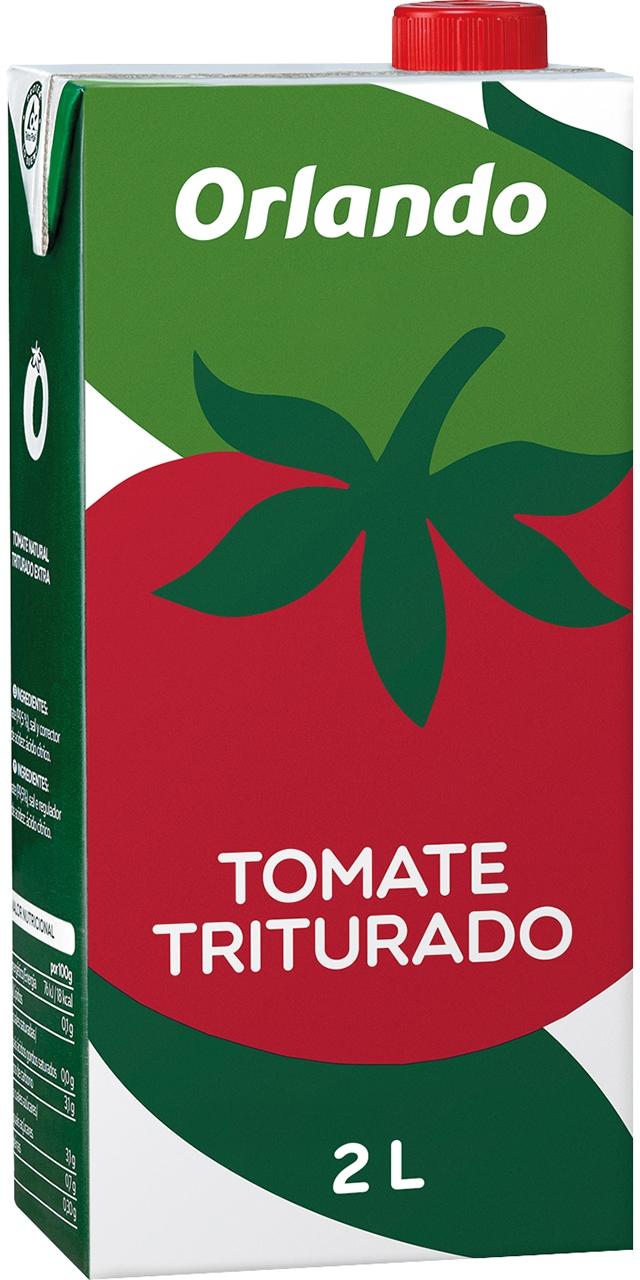 Tomate triturado brik 2,05kg. Orlando