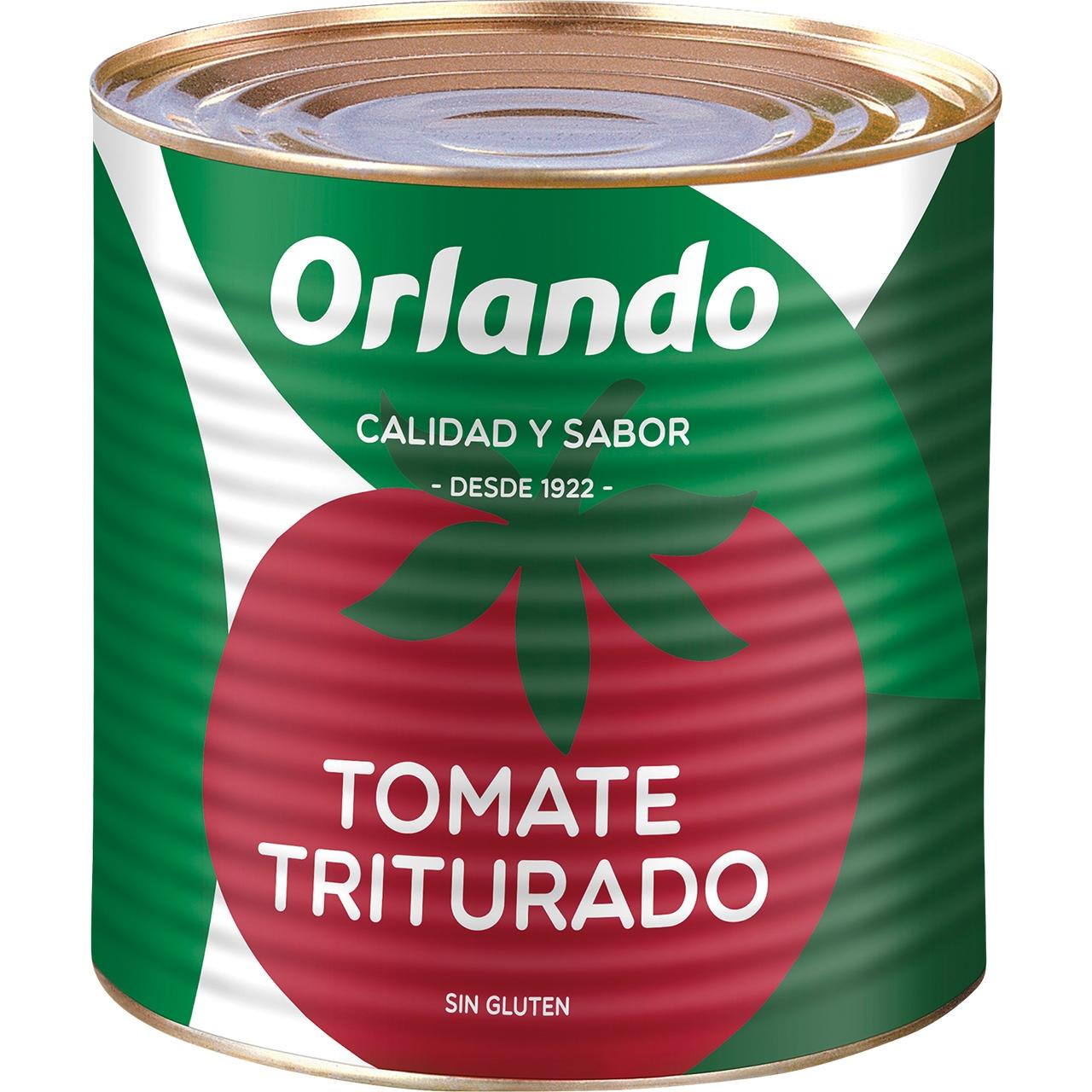 Tomàquet triturat 2,5kg. Orlando