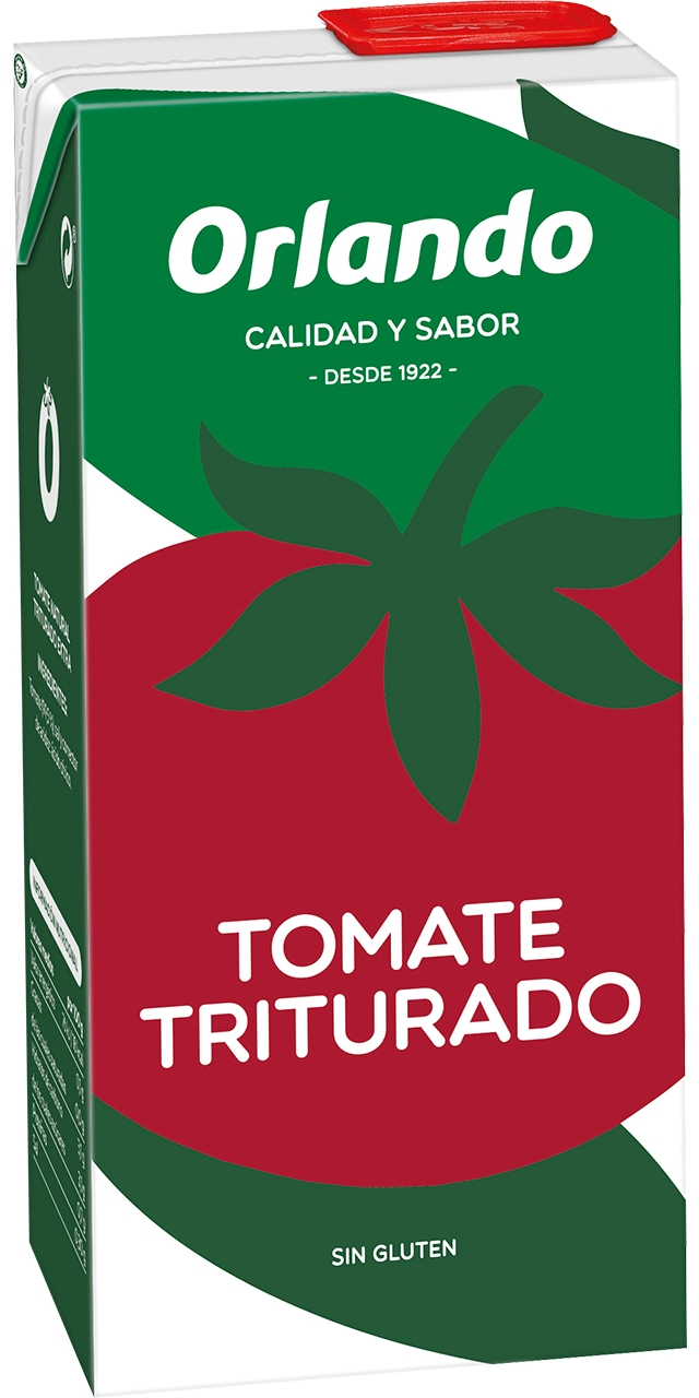 Tomate triturado brik 800gr. Orlando