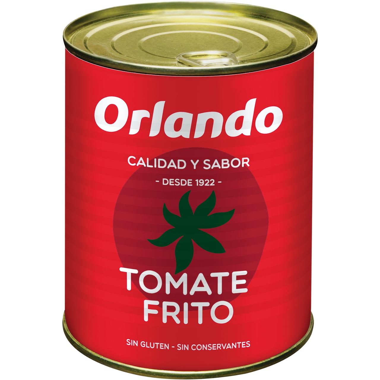Tomate frito 800gr. Orlando