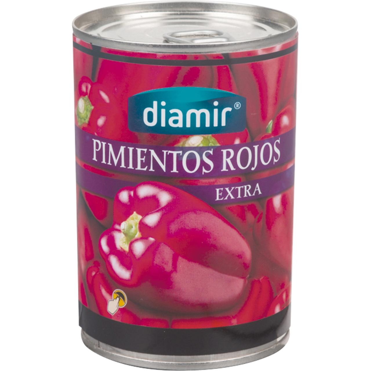 Pimiento Rojo Entero Extra 500gr. Diamir
