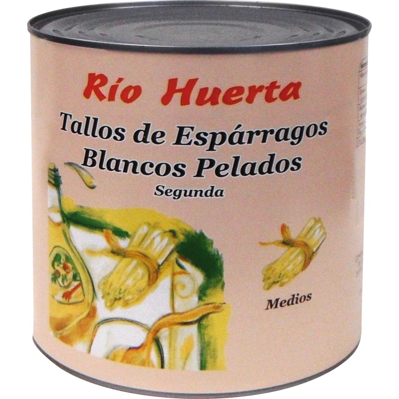 Tallos de espárrago blanco 3kg. Rio Huerta