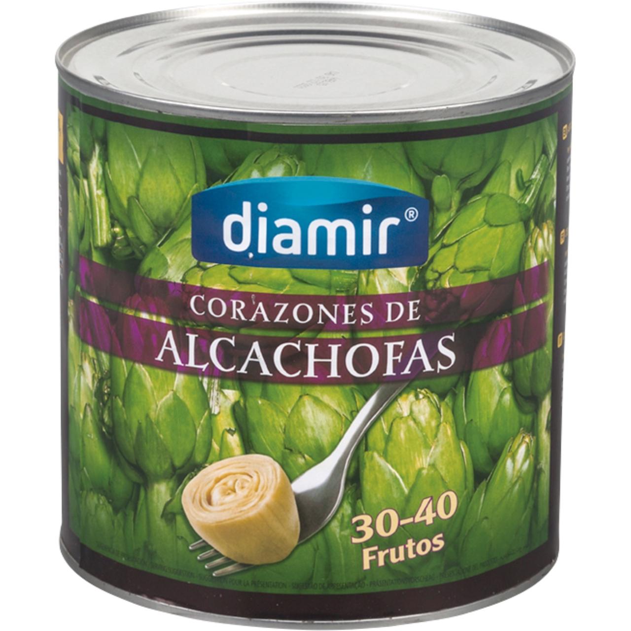 Alcachofa Corazones 3kg. Diamir