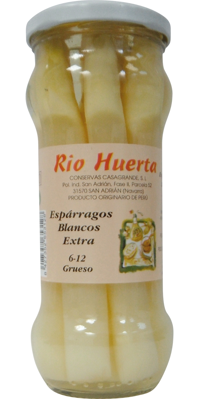Espàrrec blanc 6/12 Rio Huertas