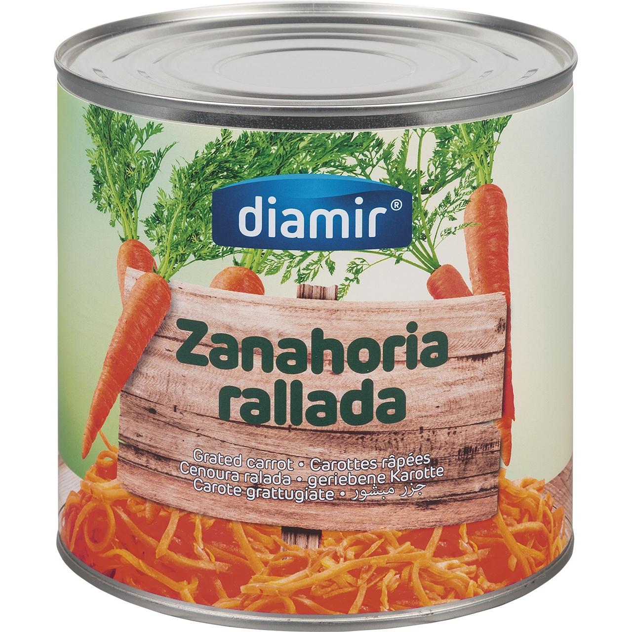 Zanahoria rallada 3kg. Diamir