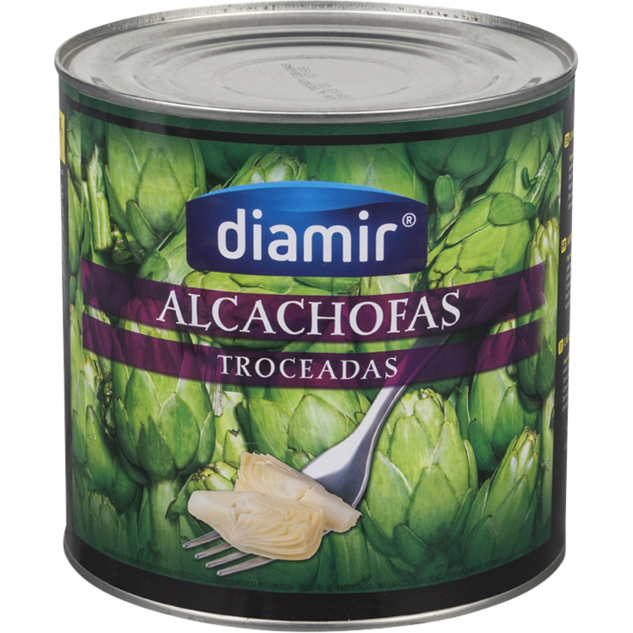 Alcachofa a trozos 3kg. Diamir