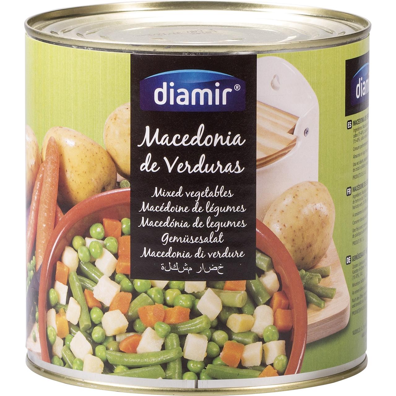 Macedònia verdures 3kg. Diamir