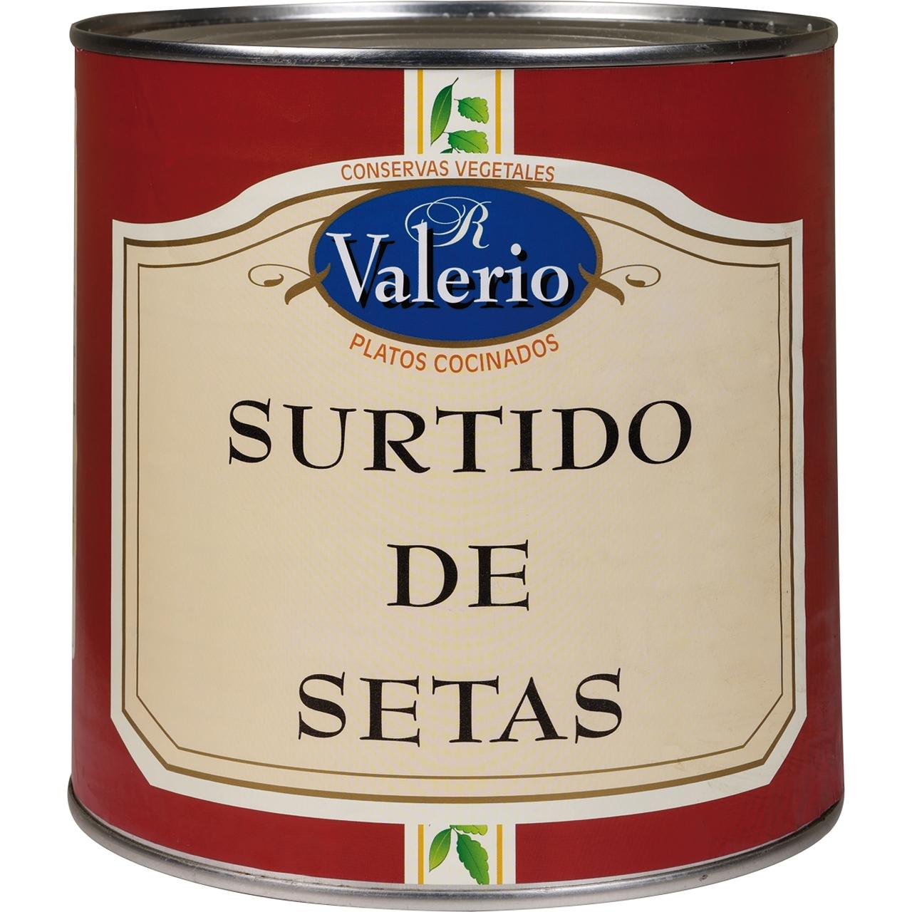 Barreja de bolets llauna 3kg. Valerio