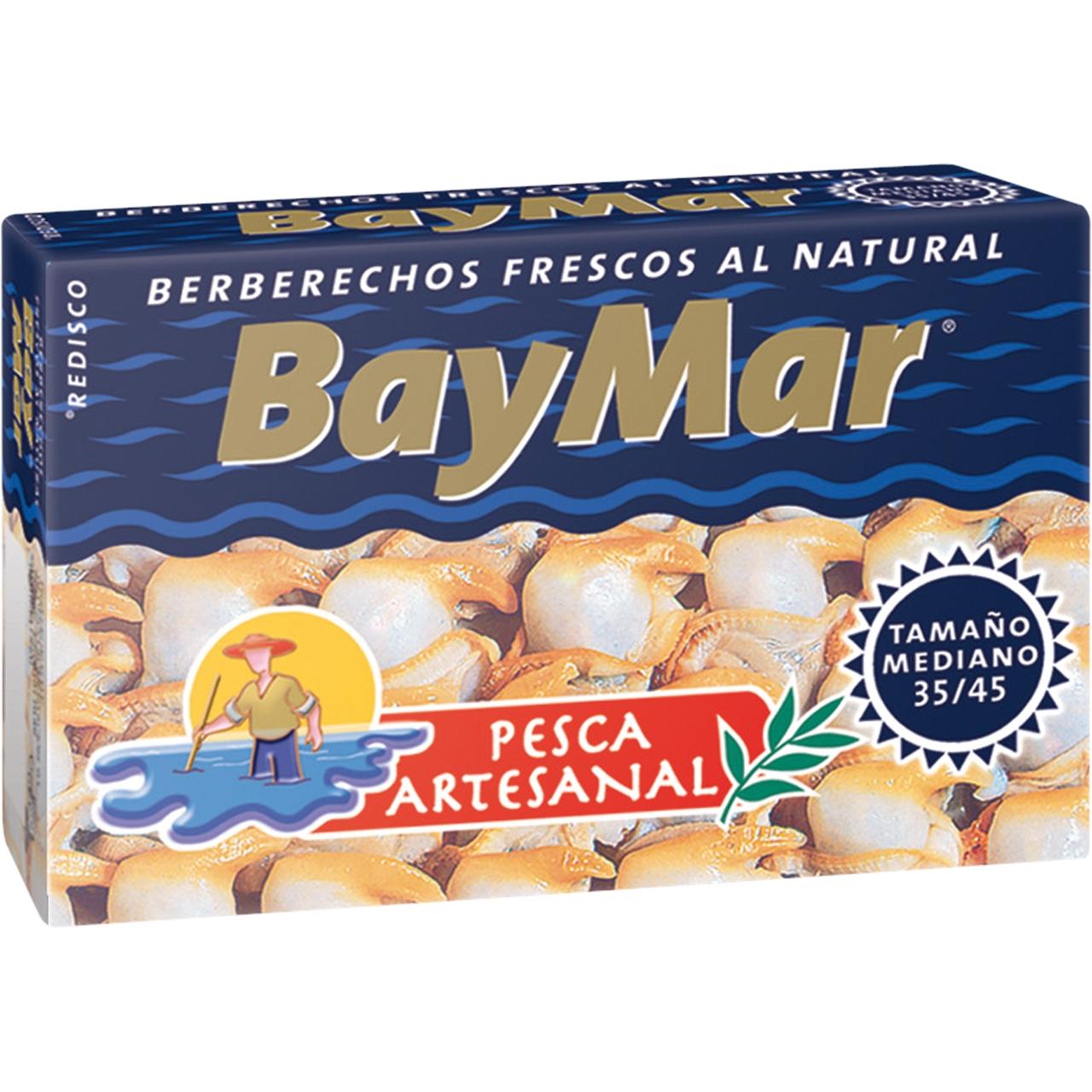 Escopinyes al natural OL120 35/45 Baymar