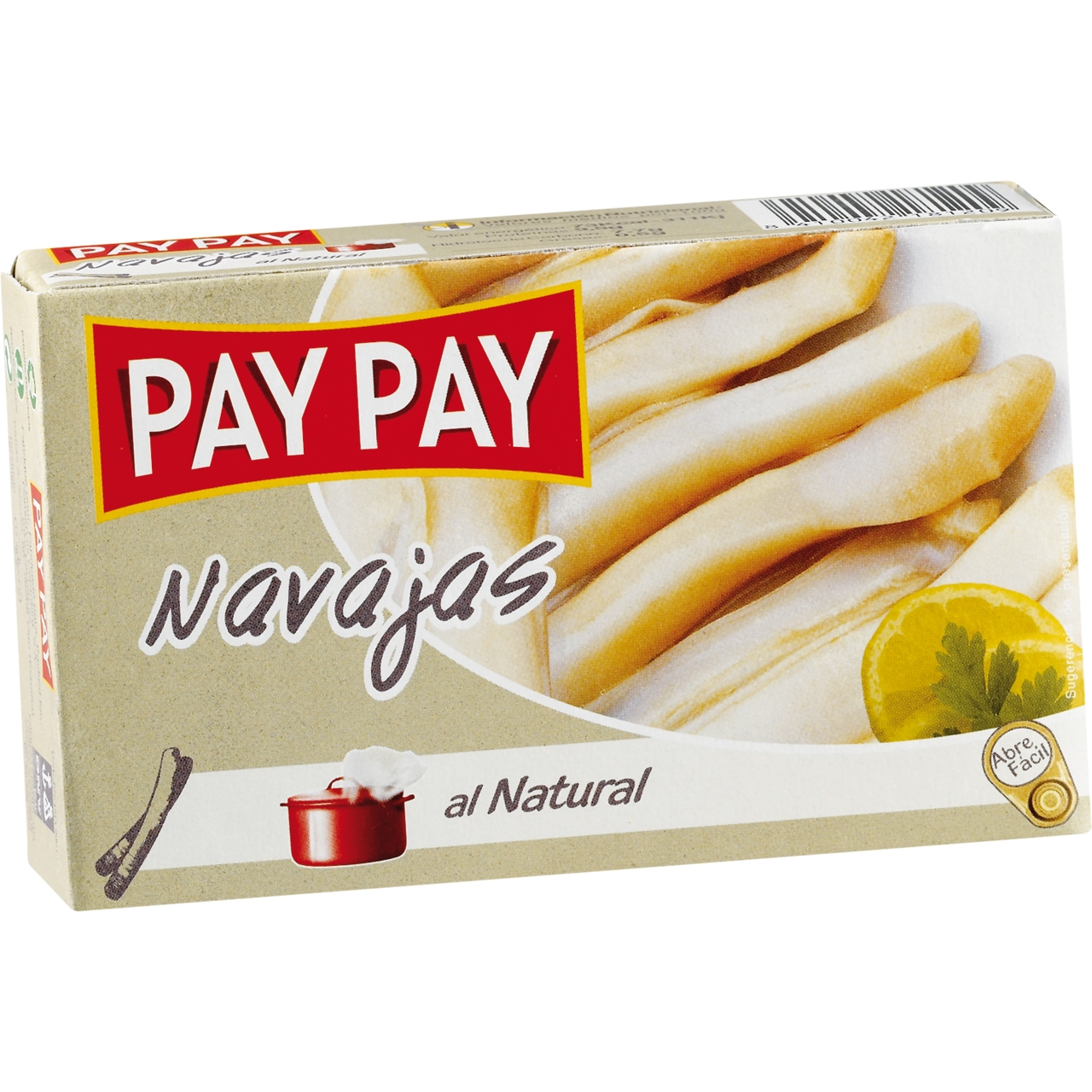 Navajas al natural OL 120 F.O. Pay Pay