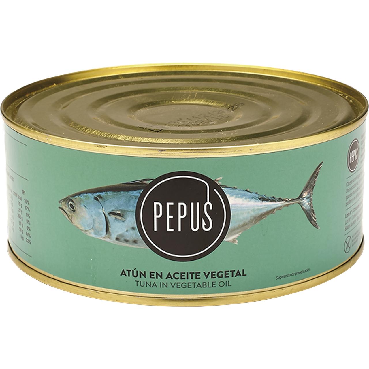 Atún en aceite vegetal RO-900 Pepus